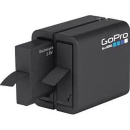 GoPro AHBBP-401 Akku-Ladegerät mit 2 Anschlüssen + Batterie für Hero4 // UVP 49,90