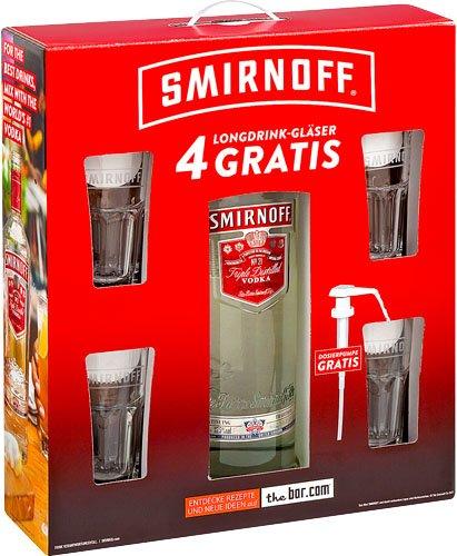 ( NRW Lokal Kaufland  ) Smirnoff Vodka Red Label 3 L für 39,99€ + zugabe