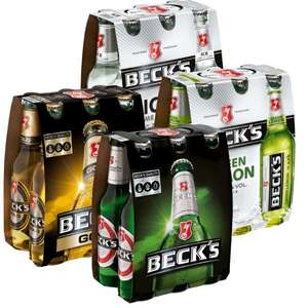[V-MARKT] Beck's 6-Packs versch. Sorten 6x0,33l für 2,22€