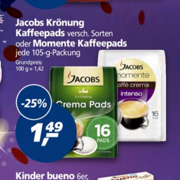 Jacobs Senseo Pad's bei Real