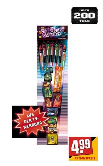 REWE - Feuerwerk-Sortiment 200 Teile