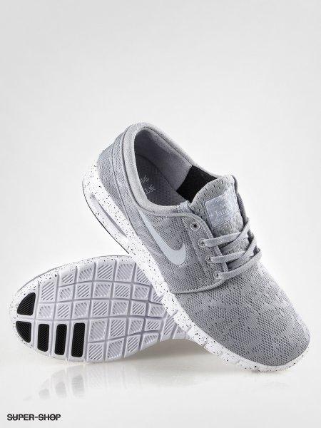 Nike Stefan Janoski Max Grau/Weiß nur in der Größe 45