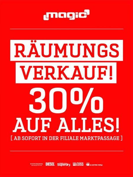 [Lokal Bielefeld] Magic 30% auf das gesamte Sortiment