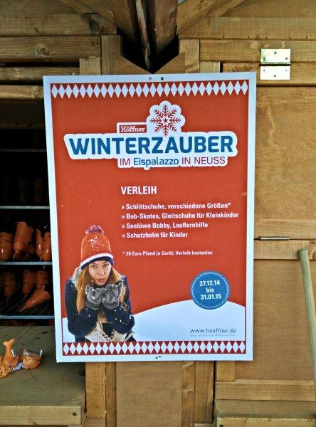 [Lokal Neuss] gratis Schlittschuh laufen bei Höffner 20€ Pfand für Leihschuhe etc.