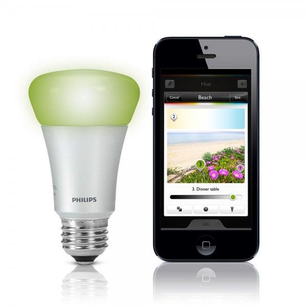 [amazon.it] Philips Hue bulb E27 für 55,77 €  und GU10 Starter-Set für 182,86 € inkl. Versand.