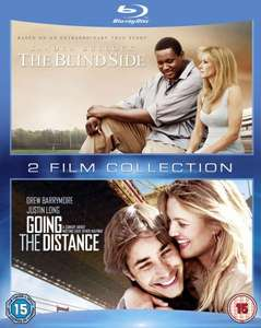 Blu-ray Box - Blind Side & Verrückt nach Dir (Going the Distance) (2 Discs) für €6,38 [@Zavvi.com]