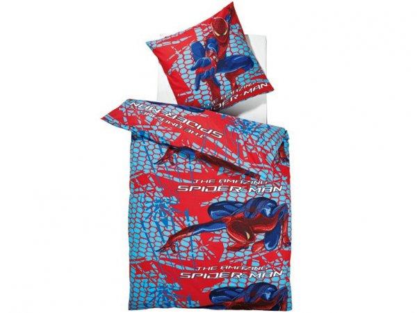 [3% Qipu] SPIDERMAN Bettwäsche 135 x 200 cm 100% Baumwolle für 12,99€ zzgl. 4,95€ Versand @Lidl Online