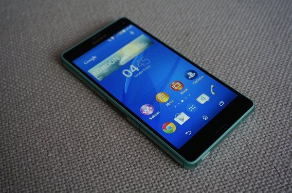 Sony Xperia Z3 Compact mit blau.de  Allnetflat 500mb @ Telepoint