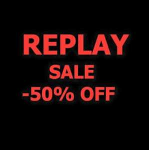 Replay 50% Riem Arcaden