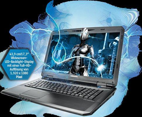 """[AT] """"Gaming Laptop""""  ERAZER® X7830 999€"""