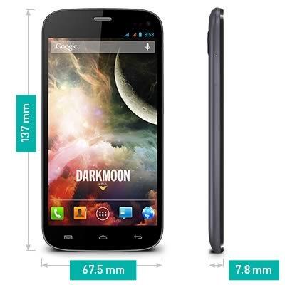 Wiko Darkmoon kompaktes Dualsim HD Smartphone 11,9 cm (4,7 Zoll) nur 110g @Amazon WHD für 106,94€ (sehr gut)