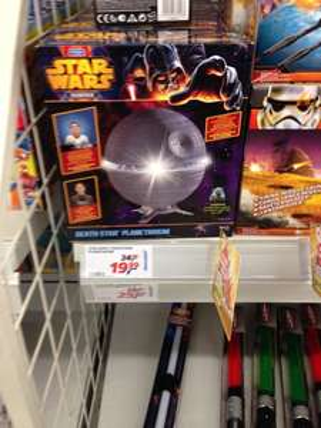 Star Wars Todesstern Planetarium Real Braunschweig