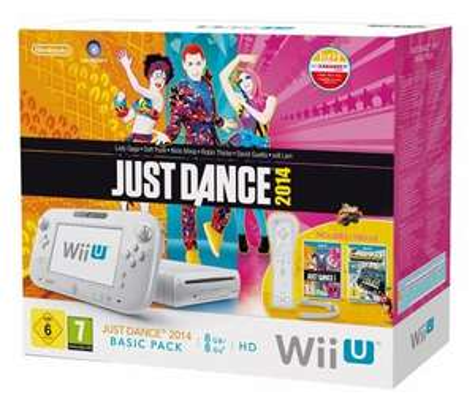 Wii U Just Dance 2014 Basic Pack, white für 214 Euro