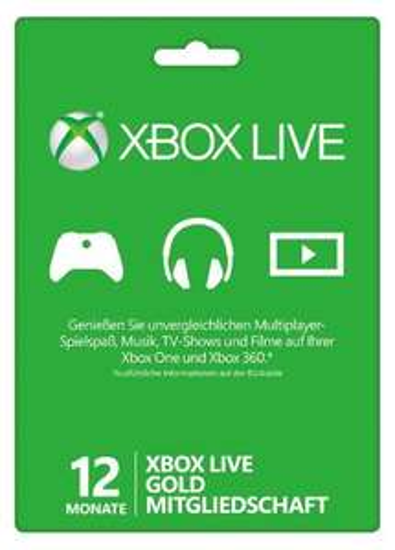 12 Monate Xbox Live Gold 33,33€ direkt bei Amazon