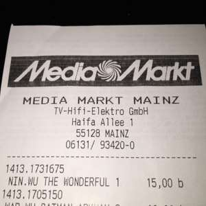 [lokal] Batman Arkham Origins & The Wonderful 101 für Wii U im Media Markt Mainz Bretzenheim