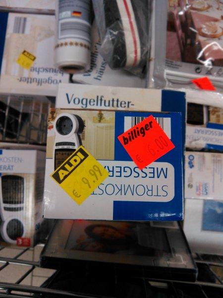 [Lokal? Aldi Nord Bielefeld] Strommessgerät (recht genau) 6€