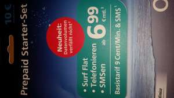 [MM Stuttgart] Prepaid Karte O2 mit 10€ Startguthaben