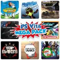[UK] PLAYSTATION VITA SPORTS & RACING MEGA PACK (PS VITA)
