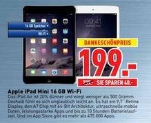 Apple iPad mini 16 GB WiFi ( Dodenhof TechnikWelt bei Posthausen)