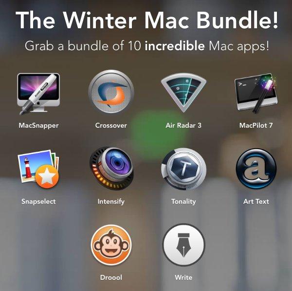 (MAC) Winter Mac Bundle mit 10 Apps im Wert von $225 zum selbst bestimmten Preis