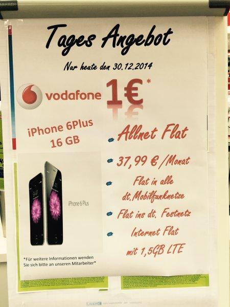 [lokal] iPhone 6 Plus 16GB für eff. 912€ inkl. dicke All-Net-Flat [MediaMarkt Hohestr.]