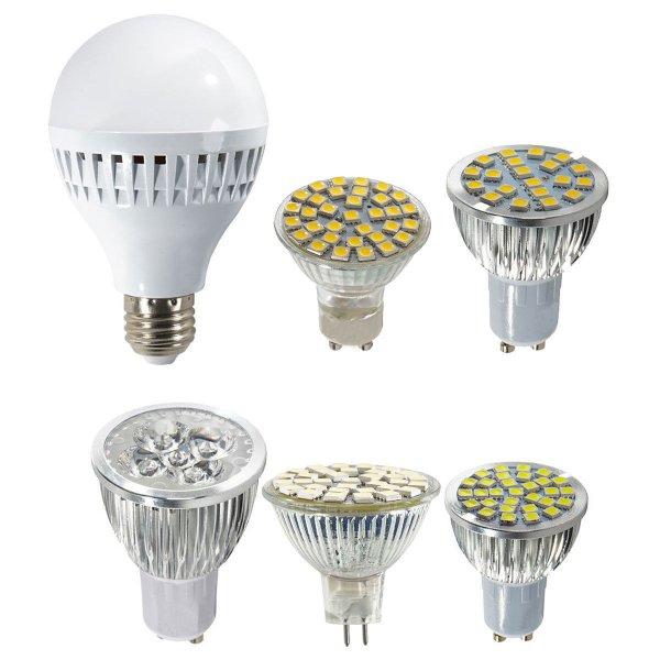 5x, 6x, oder 10x LED Leuchtmittel Leuchte Birne, E27 GU10 MR16, EEK A++ und A+ (@eBay.de Wow Deal)