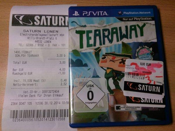 [Lokal] Saturn Lünen: Tearaway PS Vita 3EUR