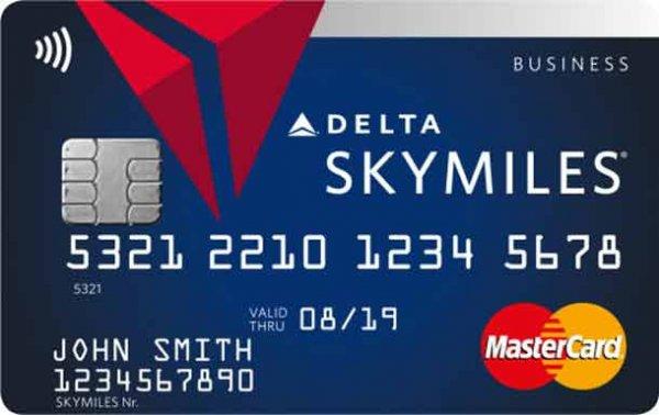 Delta Kreditkarte inkl. 10.000 Meilen + Delta Silver Status + Versicherungen
