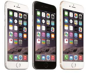 Apple iPhone 6 128GB Spacegrau mit Vertrag BASE All-in