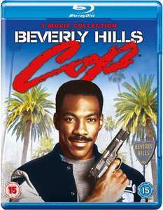 Beverly Hills Cop Triple Collection Blu-ray @ Zavvi.com
