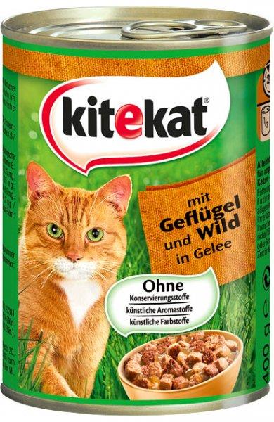 (Lokal?) Kaufland Hannover-Hainholz Kitekat 400g Dose Katzennahrung in Soße oder Gelee, versch. Sorten