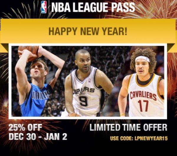 NBA League Pass für ca. 62€ bis 02.01.15