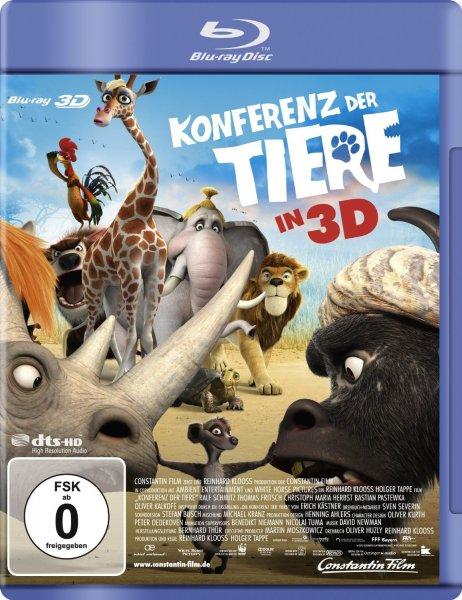 Konferenz der Tiere [3D Blu-ray @ amazon PRIME / 10% qipu] ab 9,99 €