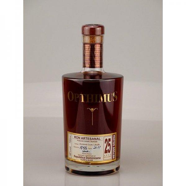 Opthimus 25 Jahre Rum (21% ggü. idealo) bei rum-expert24