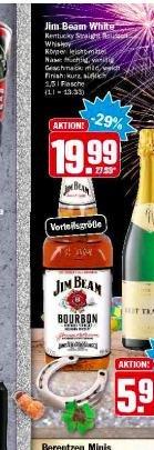 [Hit-Markt] Jim Beam 1,5L für 19,99€