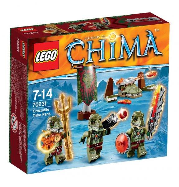 [SKY XXL/CENTER] LEGO Legends of Chima 70231/70229/70230 // Krokodil-/Löwen-/Eisbär-Stamm-Set für je nur 7,99€