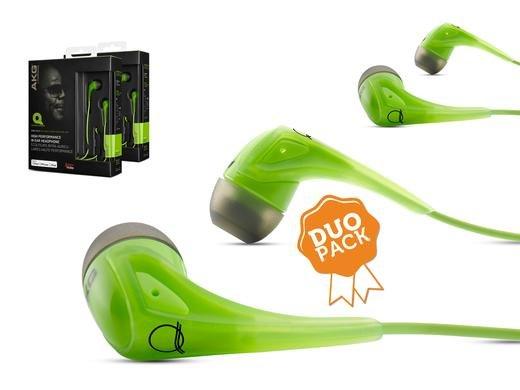 2x AKG Q350 In-Ear-Kopfhörer Limonengrün 35,90 € / Idealo ab 59,60 € - IBood.de