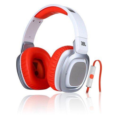 JBL J88i by Harman Over-Ear Kopfhörer mit iPhone-Steuerung Premium Sound & Design (Orange oder Weiß) (eBay)