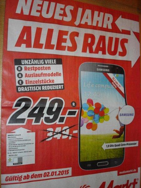 lokal(?)@ Media Markt Lüneburg: Samsung Galaxy S4 für 249,-€