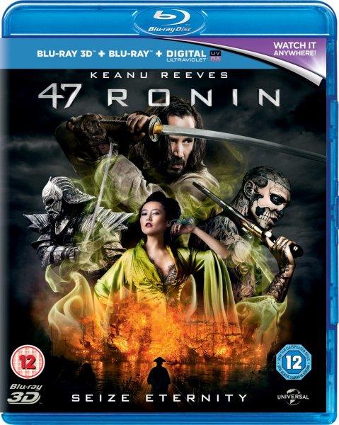 Blu-ray 3D - 47 Ronin (2 Discs) für €11,72 (15 Prozent auf alle Blu-rays) [@Wowhd.se]