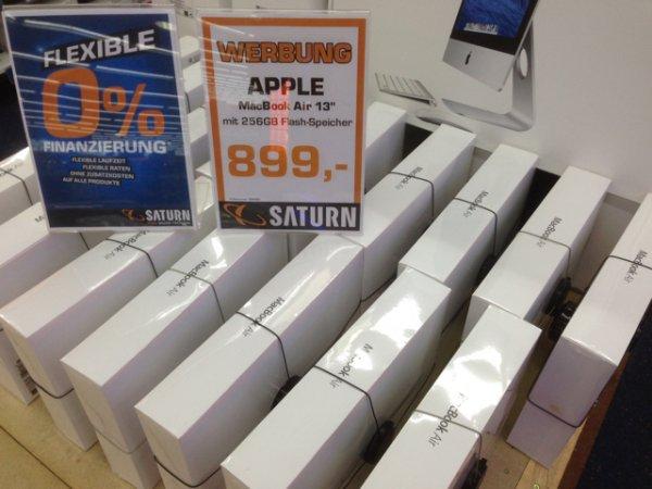 Apple MacBook Air 13 Zoll mit 256 GB Ssd