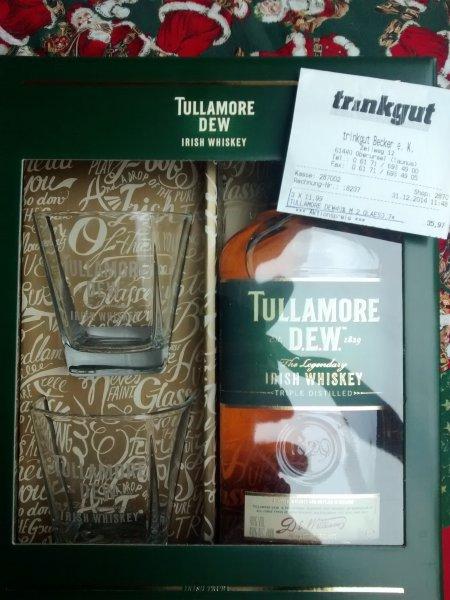 [Lokal - Oberursel - Trinkgut] Tullamore Dew Irish Whiskey inkl. 2 Gläser