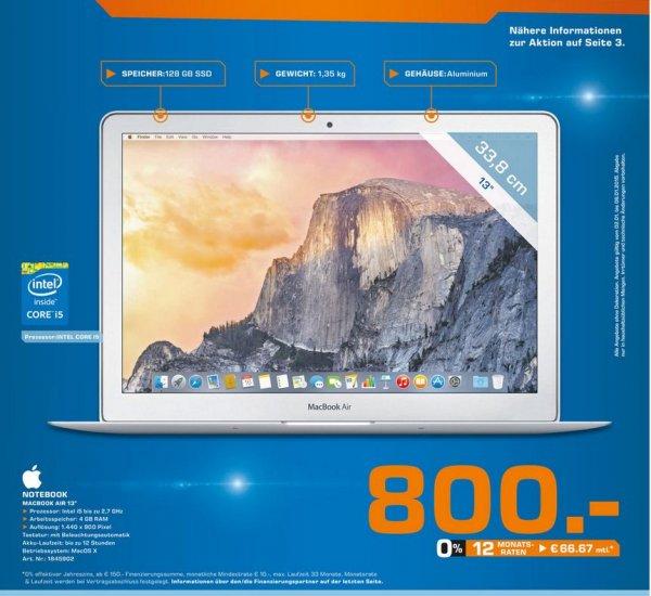 [Lokal Saturn Osnabrück] MacBook Air 13' - 800€ / Apple iMac 21,5' - 999€
