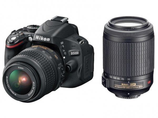 NIKON D5100+18-55mm VR+55-200mm VR @ Saturn.de