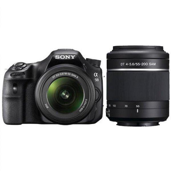 Sony SLT A 58 Y 18-55 + 55-200. Media Markt Essen