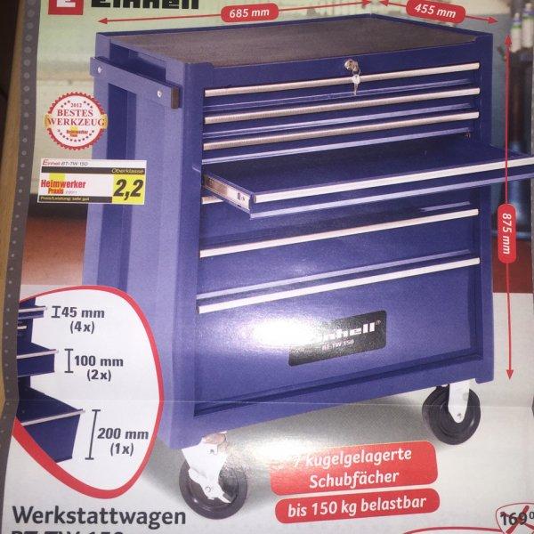 Werkstattwagen Einhell BT TW 150 für 153,51 Euro bei Selgros Gummersbach ( evtl. NRW ) vom 08.01.2015 - 14.01.2015. Idealo 229 Euro plus 9,95 Euro Versand