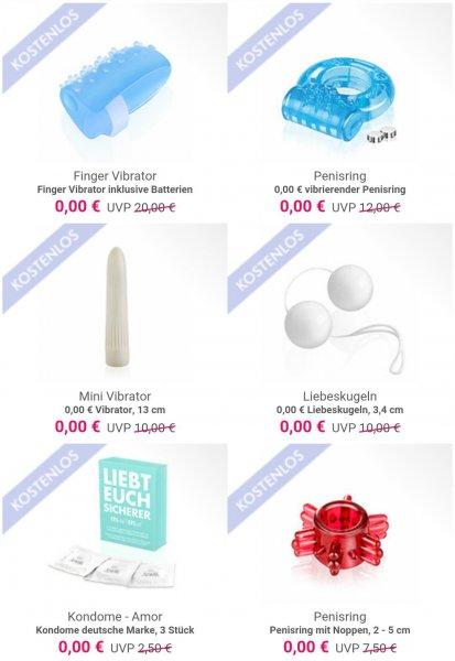 Eis.de Gratis Sexspielzeug nur 5,97€Versand