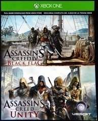 Assassin's Creed Unity & Black Flag (One) (Download) für zusammen 20,66 EUR @ Ebay