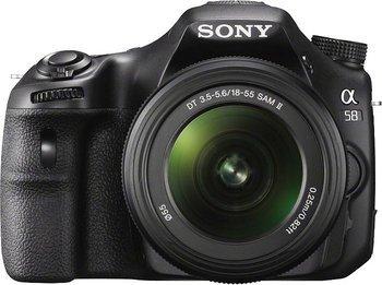 Sony SLT-A58K SLR-Digitalkamera inkl. 18-55mm