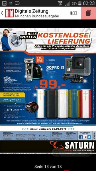 [lokal München] MEGAKNALLER-Angebote: ULTIMATE EARS UE BOOM Bluetooth Lautsprecher 99€ ,GoPro HERO für 99€ , BRAUN Pulsonic Pro 745cc-3 effektiv 59€, Note 3 neo 222€ , GALAXY TAB S 8.4 16 GB WIFI + Bluetooth Lautspr. 249€